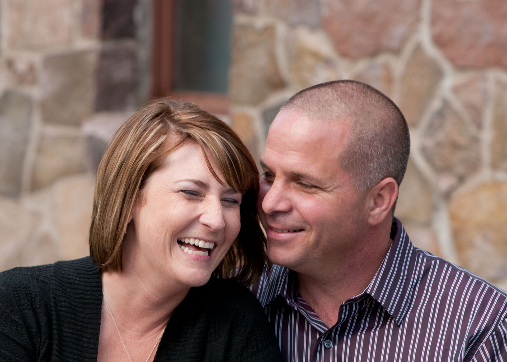 Family portrait session by Addie Lane Studios included portraits of this newly engaged couple.