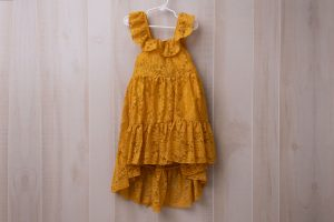 Lace girls dress for family photos includes kid clothing