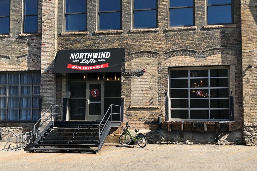 Addie Lane Studios main entrance in North Minneapolis